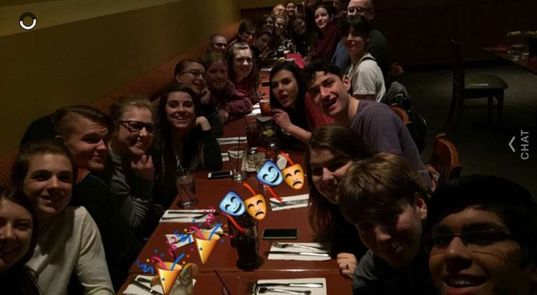 Boston pizza after Saturday show!
